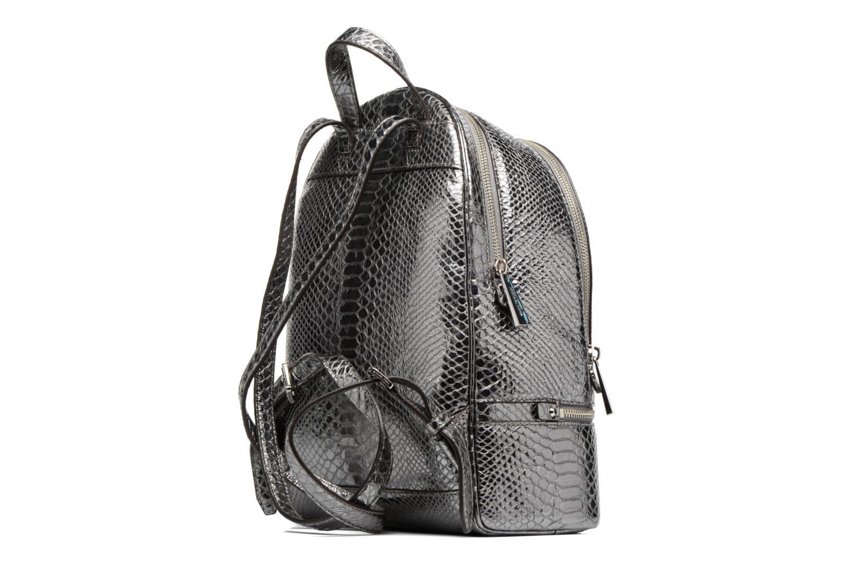 Sacs à dos Michael Michael Kors RHEA ZIP MD Backpack Argent vue droite