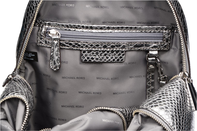 Sacs à dos Michael Michael Kors RHEA ZIP MD Backpack Argent vue derrière