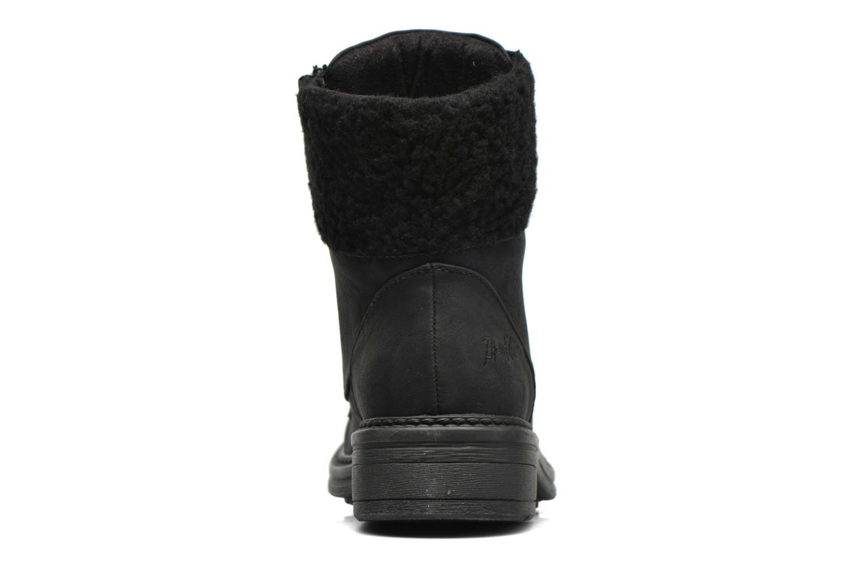 Bottines et boots Blowfish Fader Noir vue droite