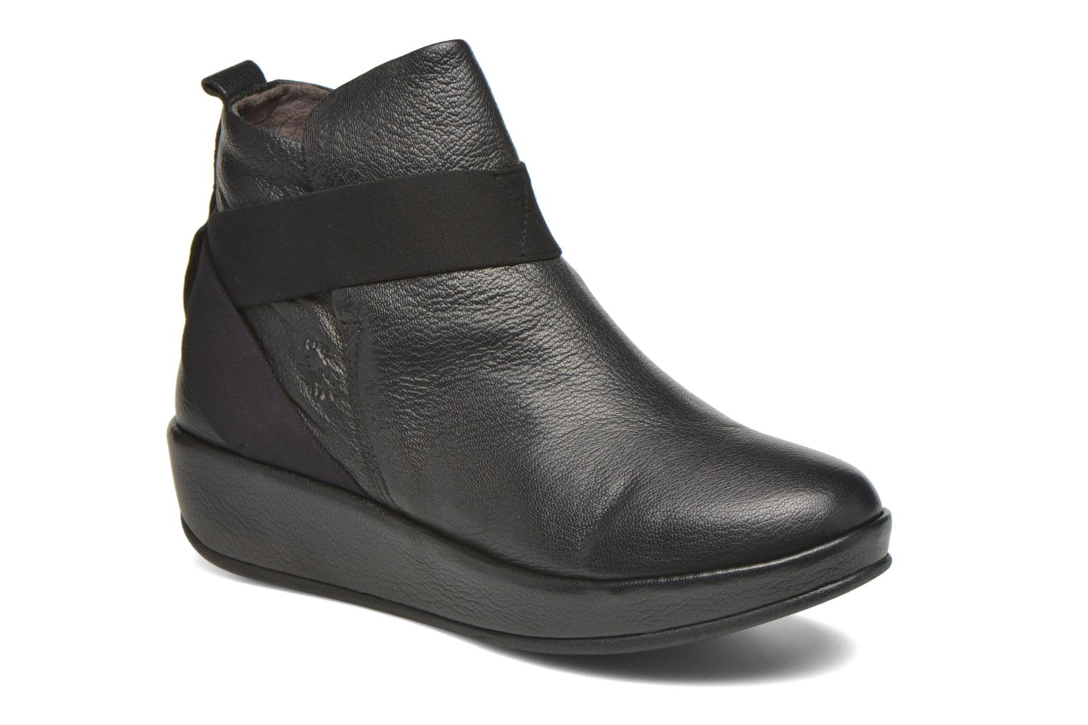 Bottines et boots Fly London Beta660 Noir vue détail/paire