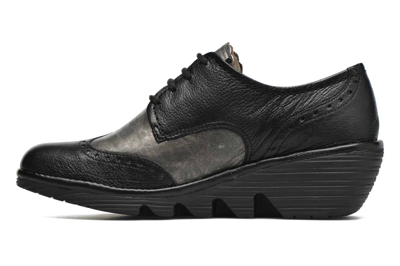 Chaussures à lacets Fly London Palt Noir vue face