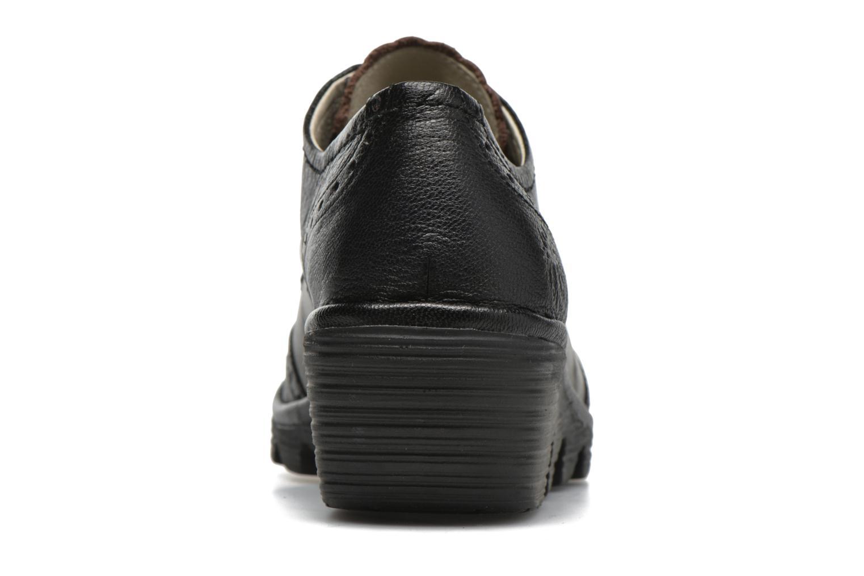 Chaussures à lacets Fly London Palt Noir vue droite