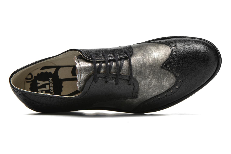 Chaussures à lacets Fly London Palt Noir vue gauche