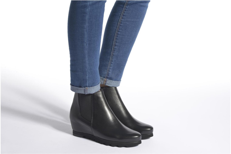 Bottines et boots HÖGL Sibylle Noir vue bas / vue portée sac