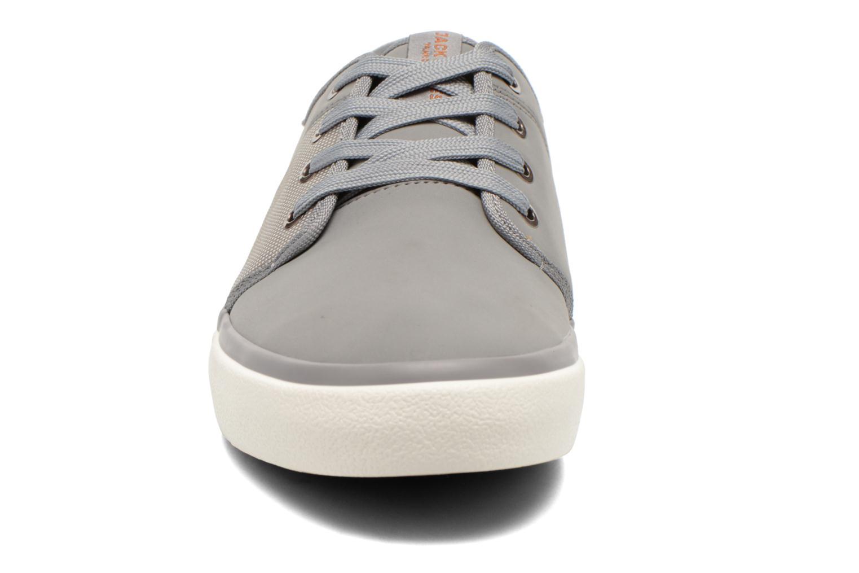 Baskets Jack & Jones JJ Turbo PU Nylon Sneaker Gris vue portées chaussures