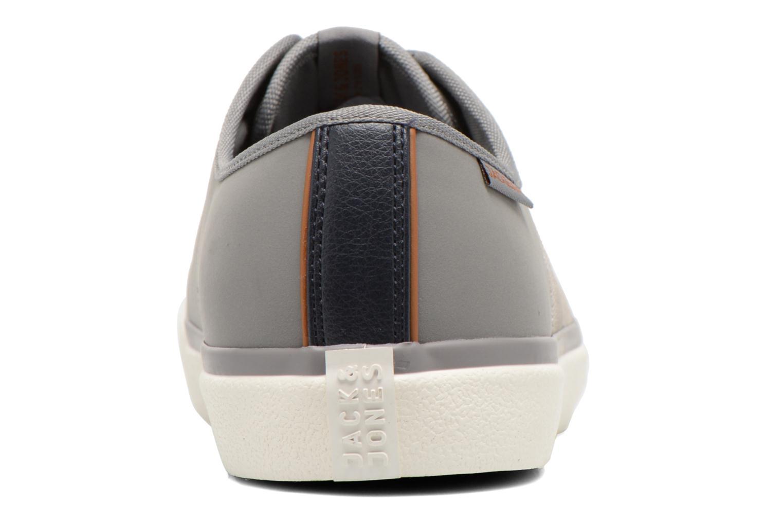 Baskets Jack & Jones JJ Turbo PU Nylon Sneaker Gris vue droite
