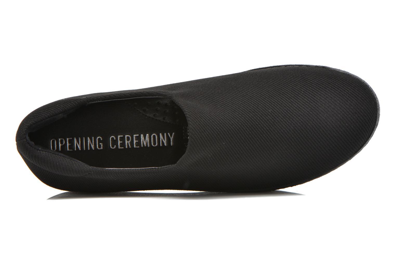 Deportivas Opening Ceremony Cici Classic Slip-On Negro vista lateral izquierda