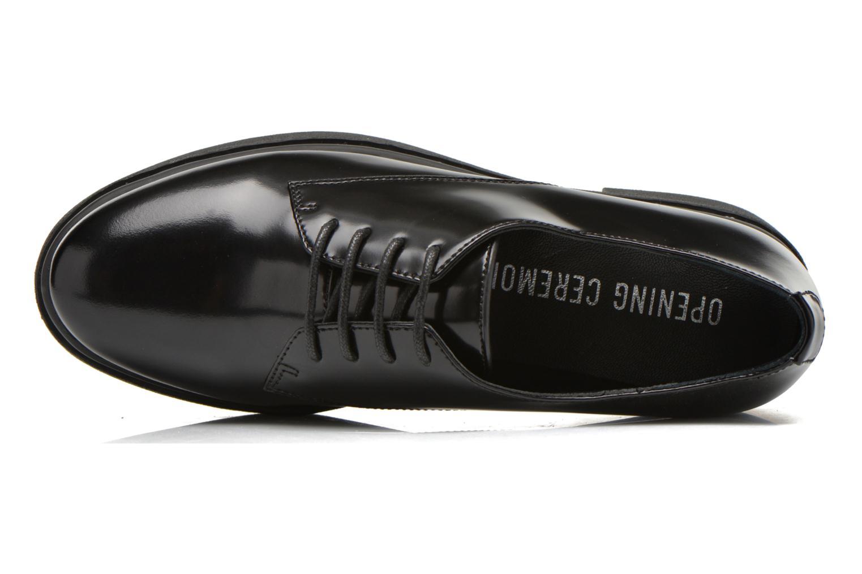 Chaussures à lacets Opening Ceremony RIYAL Noir vue gauche