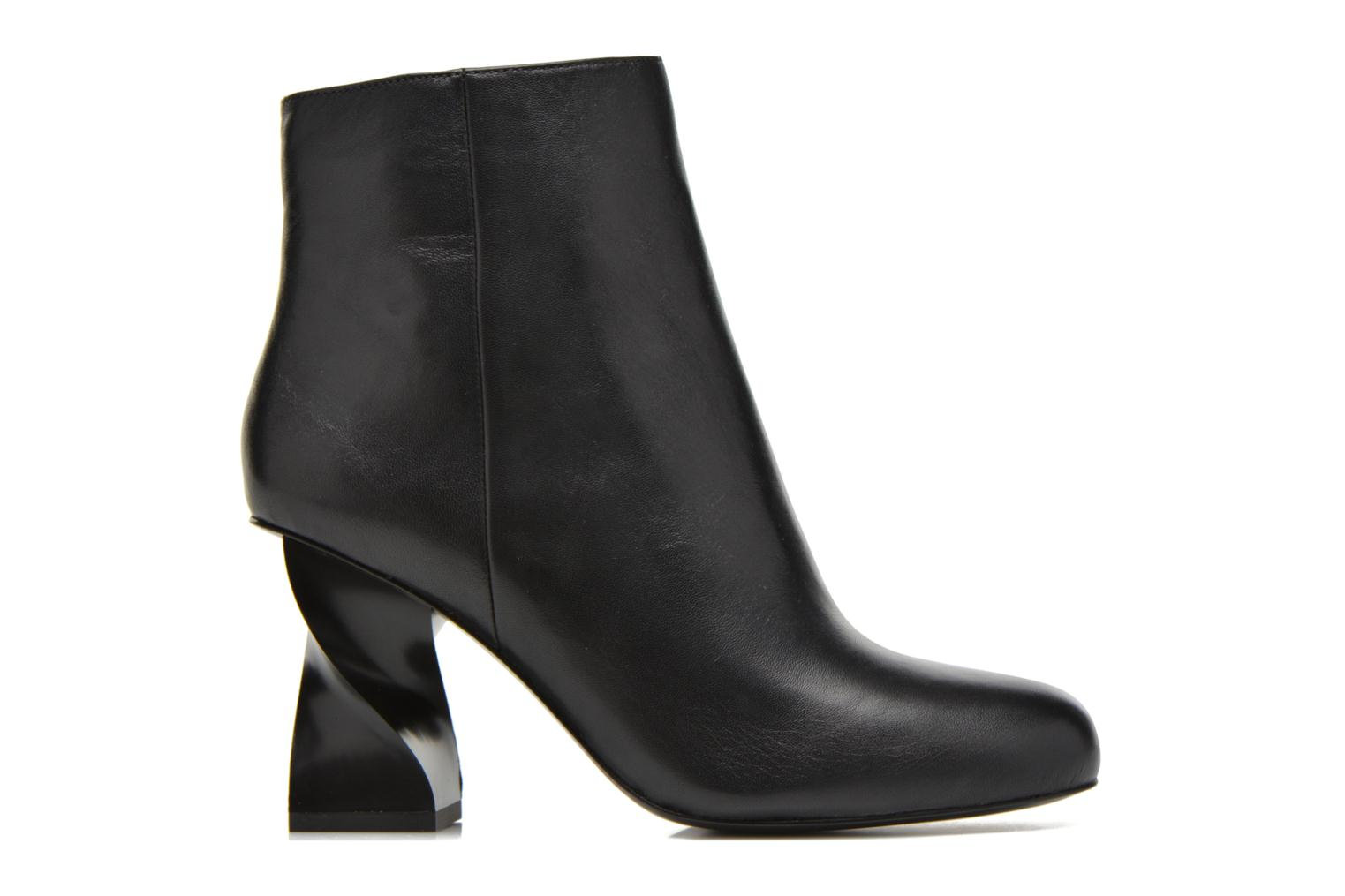 Ankle boots Opening Ceremony ELOYSE TWISTED HIGH HEEL BOOTIE Black back view