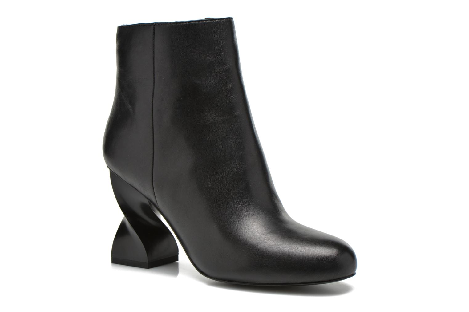 Bottines et boots Opening Ceremony ELOYSE TWISTED HIGH HEEL BOOTIE Noir vue détail/paire