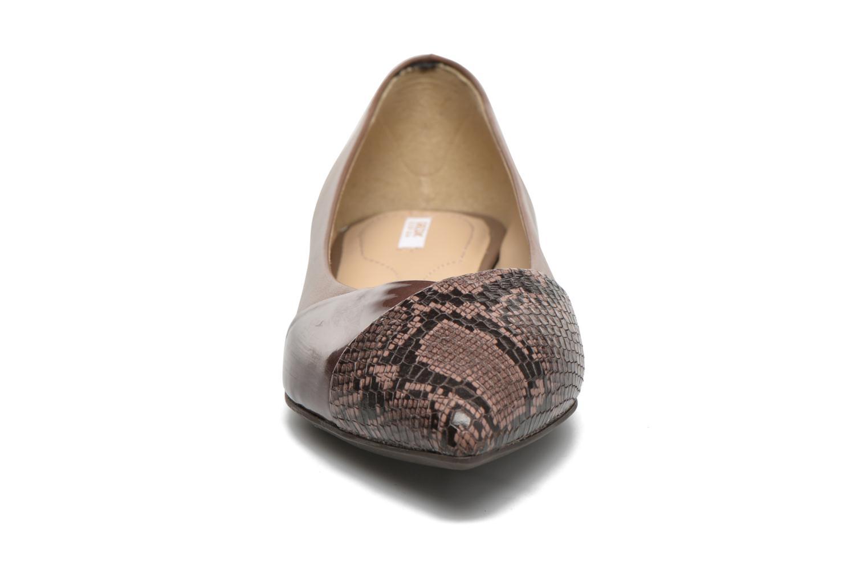 Ballerines Geox D RHOSYN C D640FC Rose vue portées chaussures