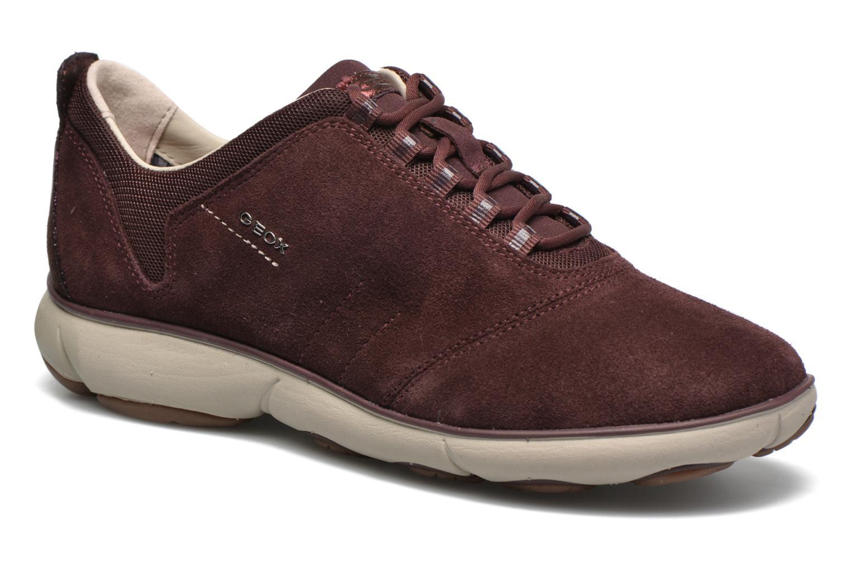 Grandes descuentos últimos zapatos Geox D NEBULA E D641EE (Vino) - Deportivas Descuento