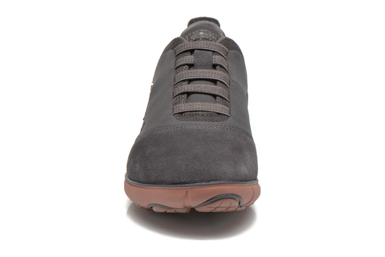 Baskets Geox D NEBULA G D641EG Gris vue portées chaussures