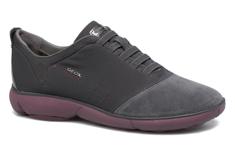 Zapatos cómodos y versátiles Geox D NEBULA G D641EG (Gris) - Deportivas en Más cómodo