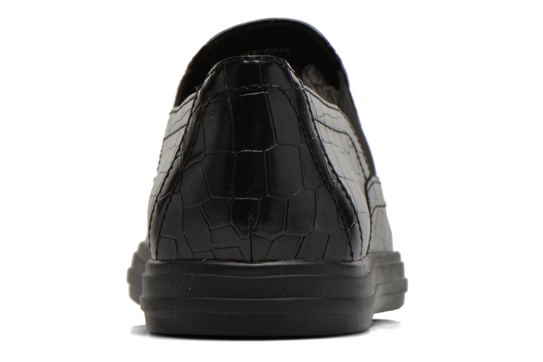 Baskets Geox D AMALTHIA B D641MB Noir vue droite