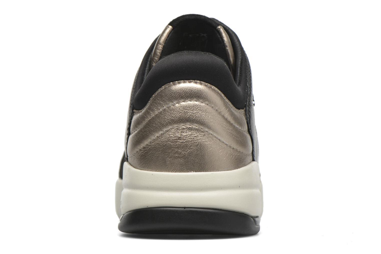 Sneaker Geox D SFINGE A D642NA gold/bronze ansicht von rechts