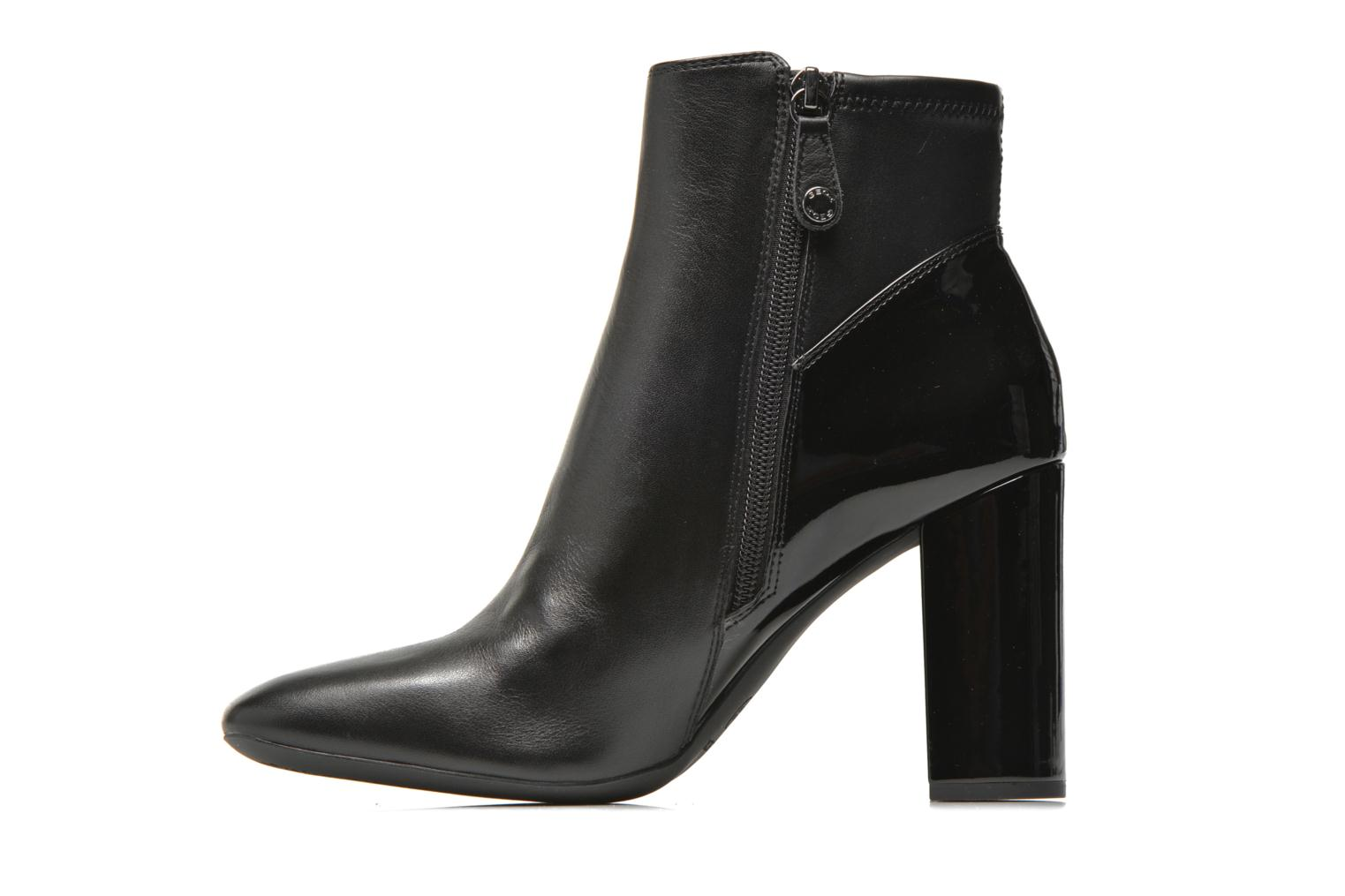 Bottines et boots Geox D NEW SYMPHONY HIGH. C D642VC Noir vue face