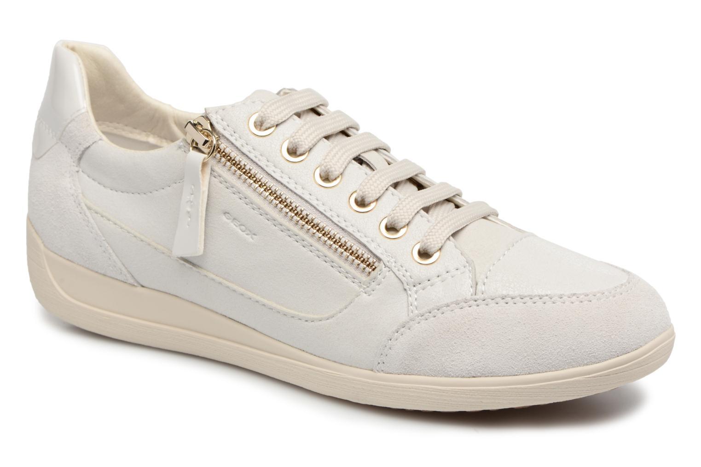 Grandes descuentos últimos zapatos Geox D MYRIA A D6468A (Blanco) - Deportivas Descuento