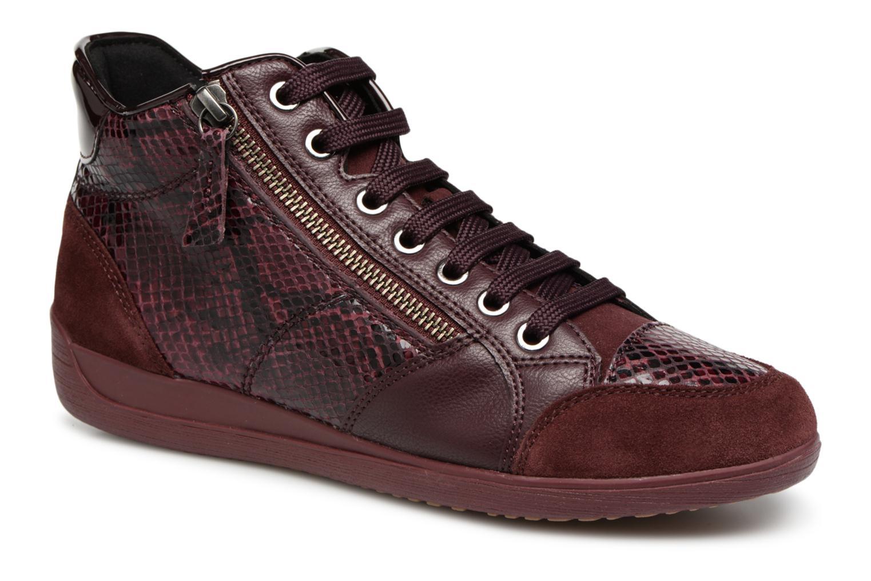 Zapatos de mujer baratos zapatos de mujer Geox D MYRIA C D6468C (Vino) - Deportivas en Más cómodo