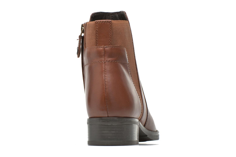 Bottines et boots Geox D MENDI ST A D6490A Marron vue droite