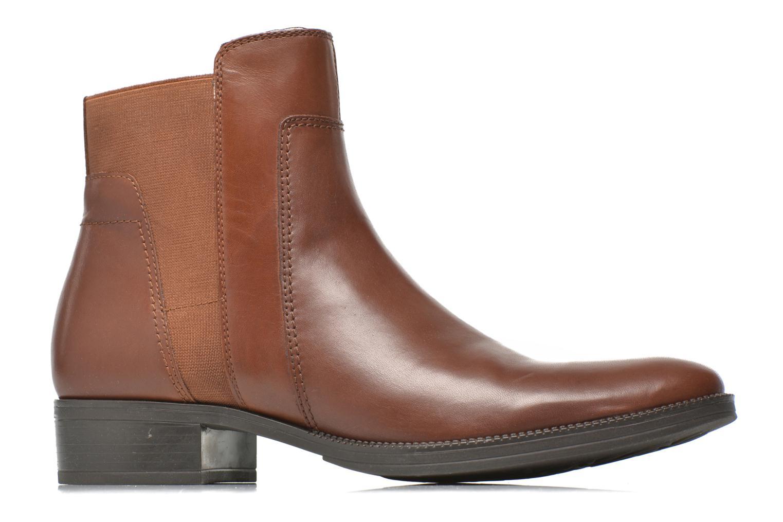 Bottines et boots Geox D MENDI ST A D6490A Marron vue derrière