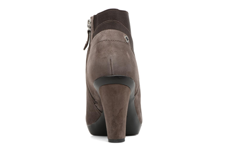 Boots en enkellaarsjes Geox D INSPIRATION ST. B D64G9B Bruin rechts