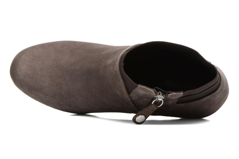 Boots en enkellaarsjes Geox D INSPIRATION ST. B D64G9B Bruin links