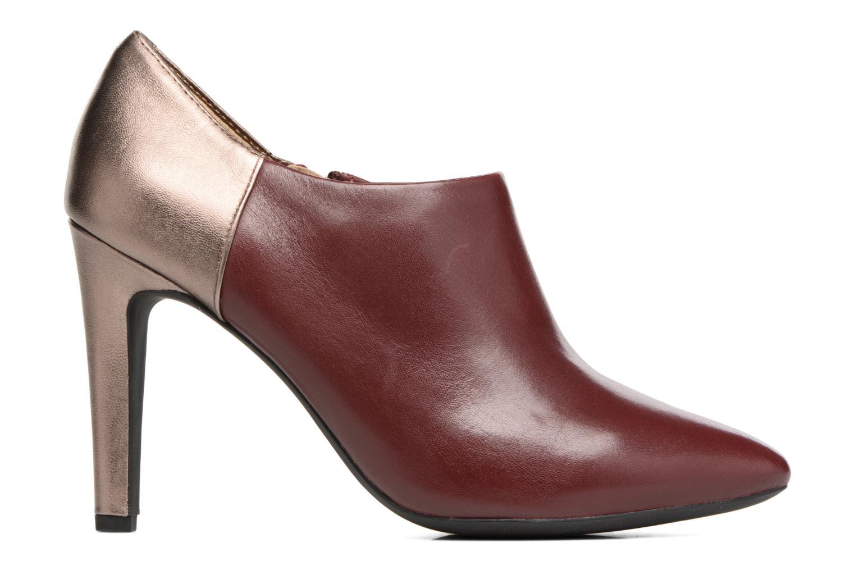 Boots en enkellaarsjes Geox D CAROLINE A D64W1A Bordeaux achterkant