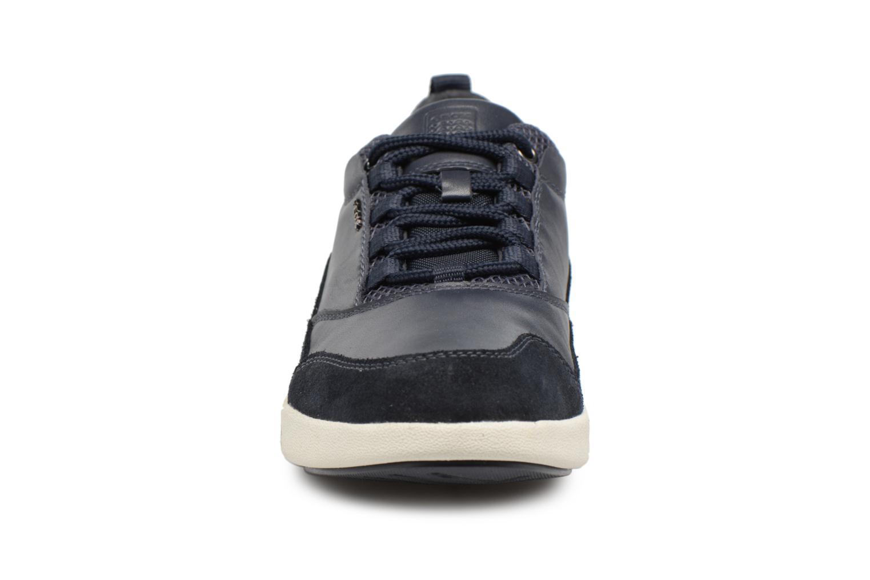 Baskets Geox U AILAND A U641QA Bleu vue portées chaussures