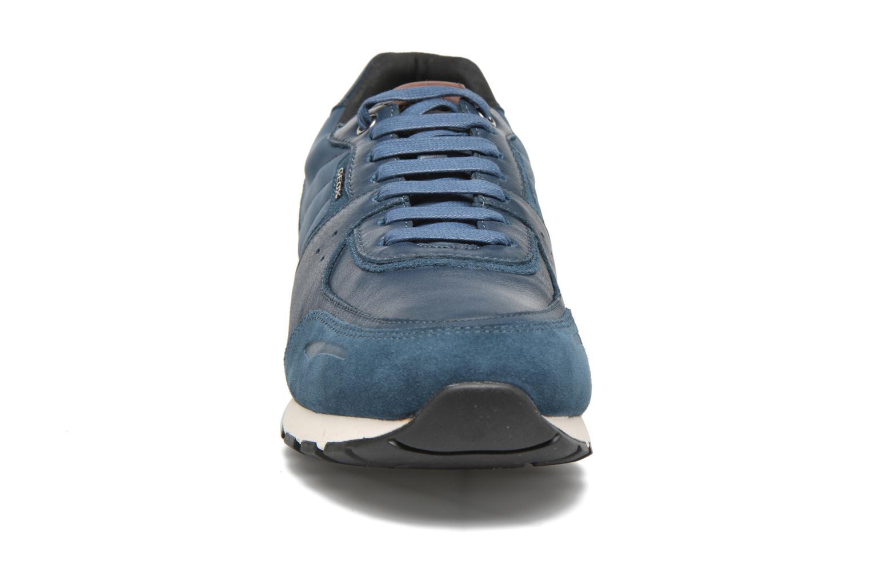 Sneaker Geox U EMILDON C U641RC blau schuhe getragen