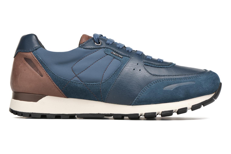 Sneaker Geox U EMILDON C U641RC blau ansicht von hinten