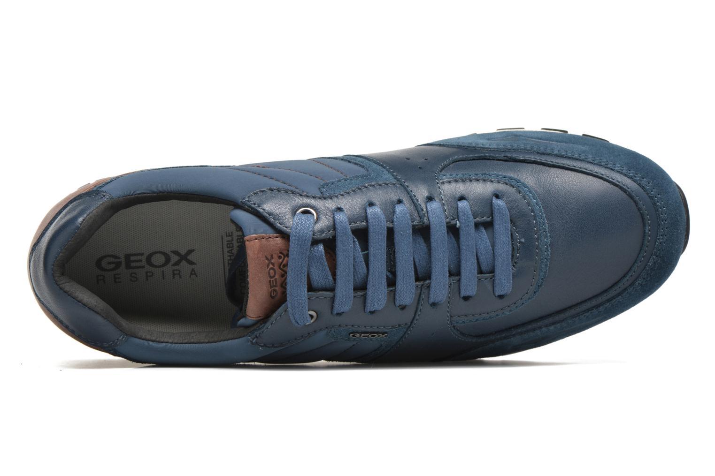 Sneaker Geox U EMILDON C U641RC blau ansicht von links
