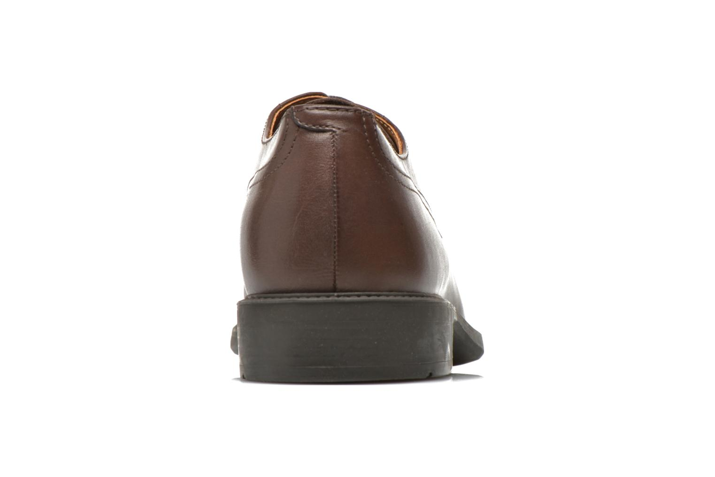 Chaussures à lacets Geox U CARNABY G U64W1G Marron vue droite