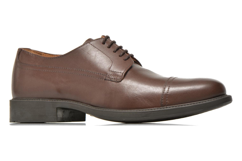 Chaussures à lacets Geox U CARNABY G U64W1G Marron vue derrière