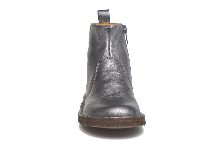 Bottines et boots PèPè Camelia Argent vue portées chaussures