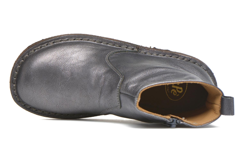 Bottines et boots PèPè Camelia Argent vue gauche
