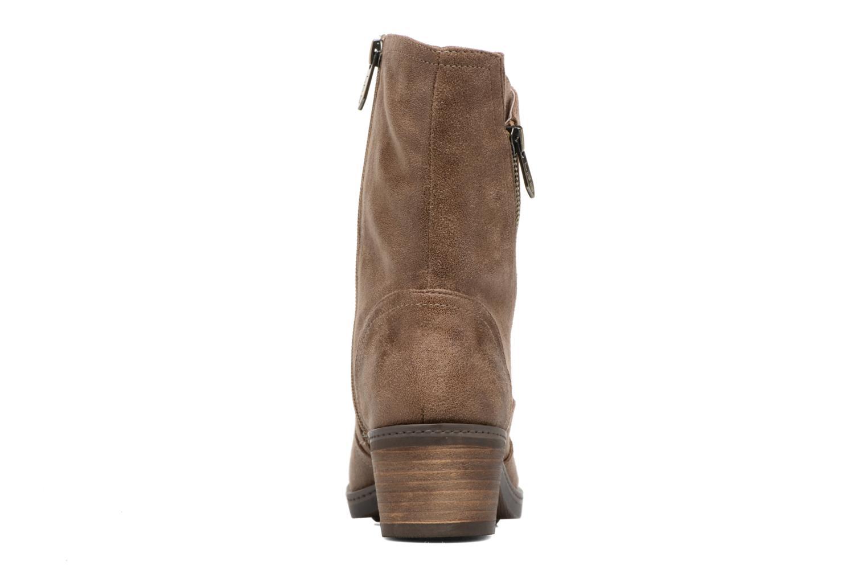 Bottines et boots Les P'tites Bombes Blandine Marron vue droite
