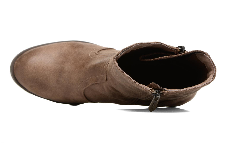 Bottines et boots Les P'tites Bombes Blandine Marron vue gauche