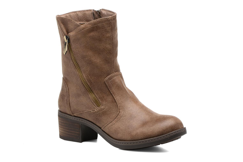 Bottines et boots Les P'tites Bombes Blandine Marron vue détail/paire