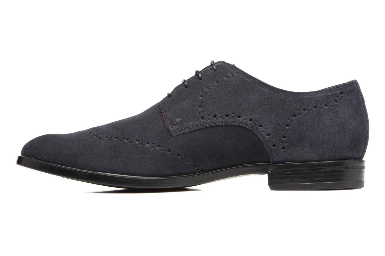 Chaussures à lacets Marvin&Co Nottingham Bleu vue face