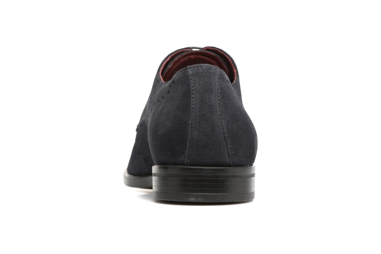 Chaussures à lacets Marvin&Co Nottingham Bleu vue droite