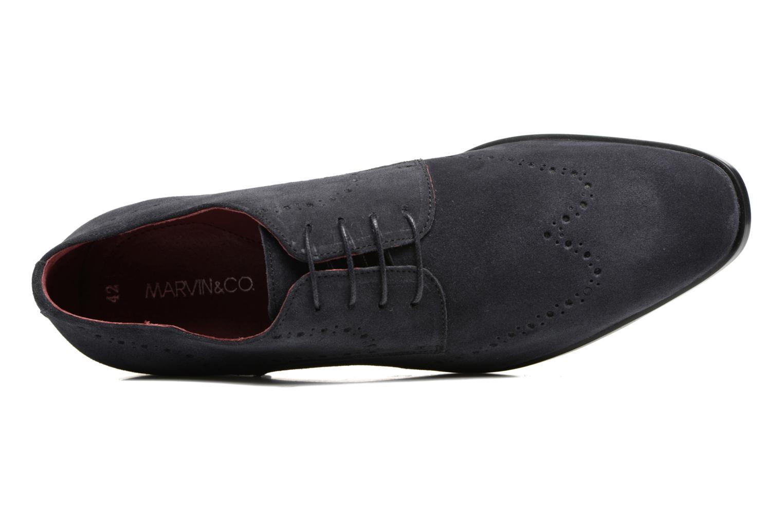 Chaussures à lacets Marvin&Co Nottingham Bleu vue gauche