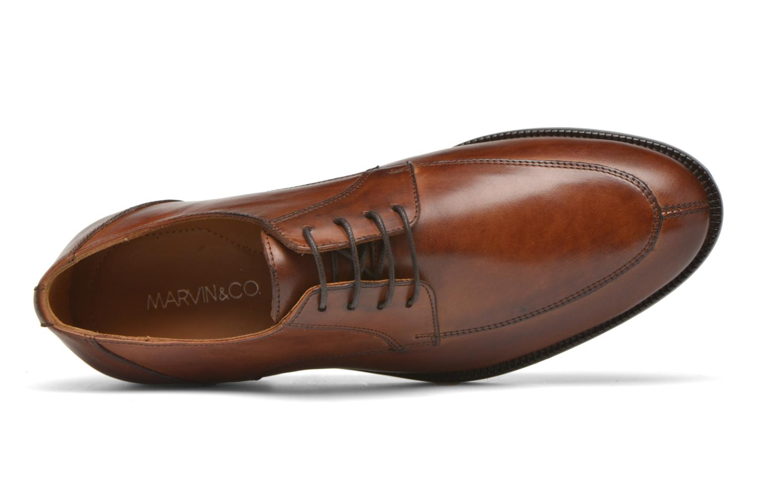 Chaussures à lacets Marvin&Co Newcastle Marron vue gauche