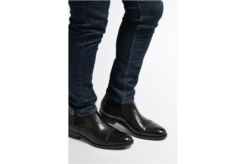 Bottines et boots Marvin&Co Nuneaton Noir vue bas / vue portée sac