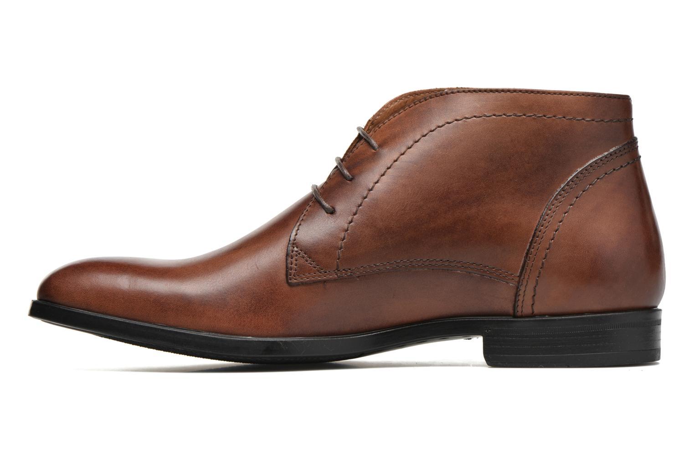 Bottines et boots Marvin&Co Newent Marron vue face