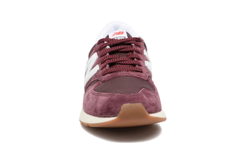 Baskets New Balance MRL420 Marron vue portées chaussures