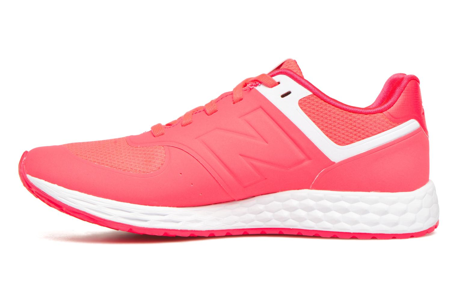 Sneakers New Balance WFL574 Roze voorkant