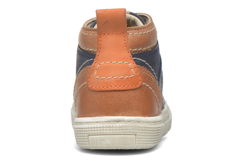Baskets Aster Charles Bleu vue droite