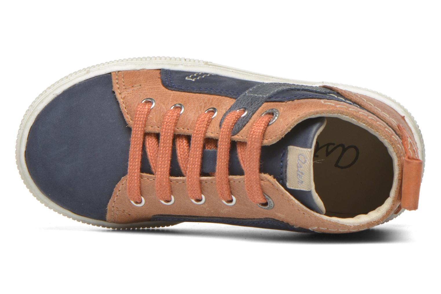 Sneakers Aster Charles Blauw links