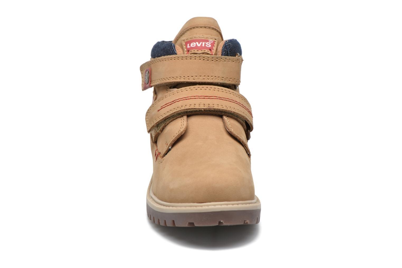 Bottines et boots Levi's Pimento Beige vue portées chaussures